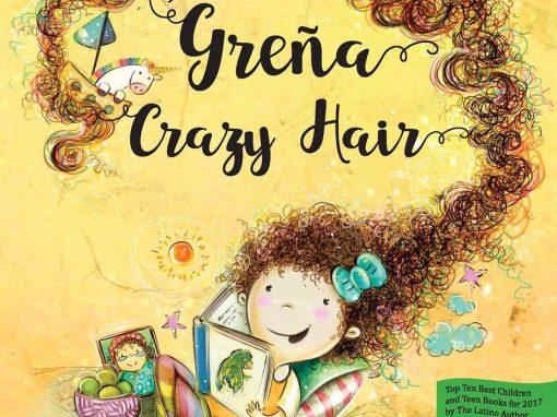 Greña / Crazy Hair de Kianny N. Antigua. Ilustraciones de Vanessa Balleza